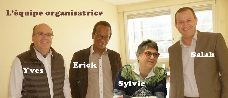 TSANGA equipe organisatrice Colloque Couleur Casablanca